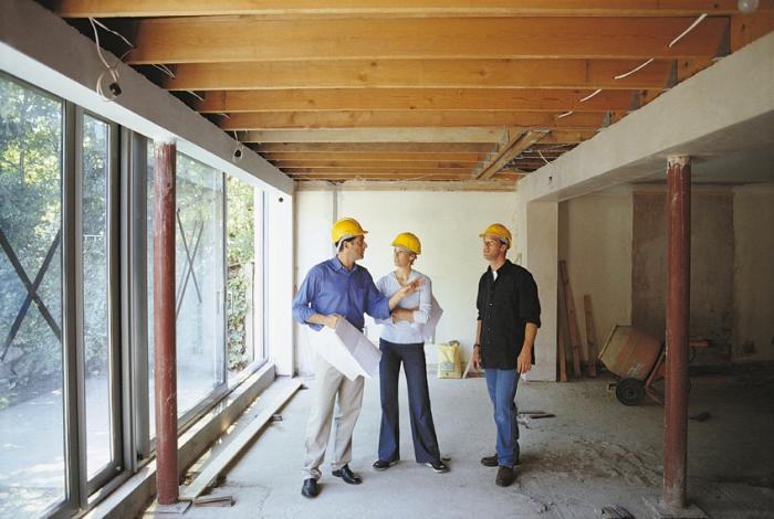 Ремонт и реконструкция жилых, административных и производственных зданий
